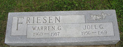 Warren G. Friesen