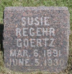 Susie <I>Regehr</I> Goertz