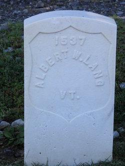 PVT Albert W. Lang