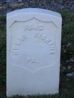 Pvt Henry Riskine
