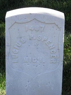 Pvt Lucius P. Spencer