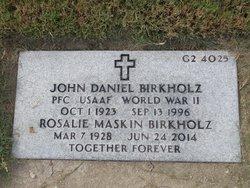 John Daniel Birkholz