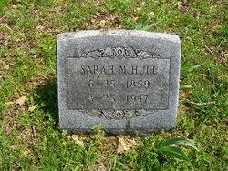 Sarah M. <I>Hudson</I> Hull