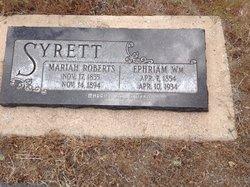 Ephream William Syrett