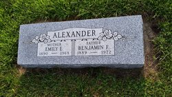 Emily E <I>Baldwin</I> Alexander