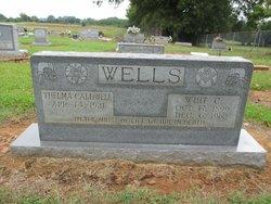 Thelma <I>Caldwell</I> Wells