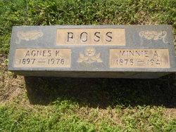 Agnes K Ross