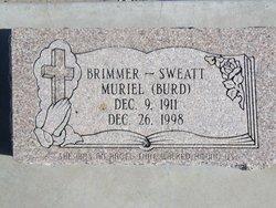 Muriel <I>Burd</I> Brimmer-Sweat