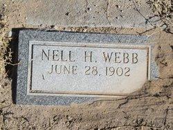 Nell H Webb
