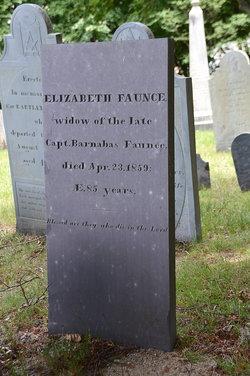 """Elizabeth """"Betsey"""" <I>Carver</I> Faunce"""