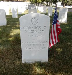 Pvt Cormick G. McGinley
