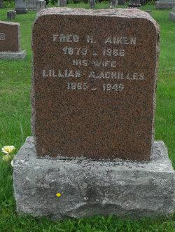 Lillian A. <I>Achilles</I> Aiken