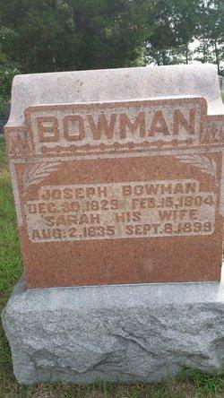 Sarah <I>Bowers</I> Bowman