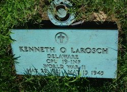 Corp Kenneth Ottwell LaRosch