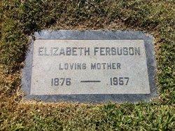 Elizabeth <I>Ferguson</I> Ferguson