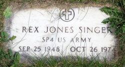 Rex Jones Singer