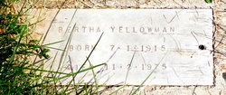 Bertha Yellowman