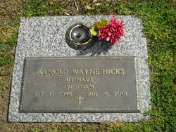 Arnold Wayne Hicks