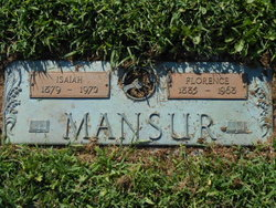 Florence <I>Cramer</I> Mansur