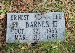 Ernest Lee Barnes, III