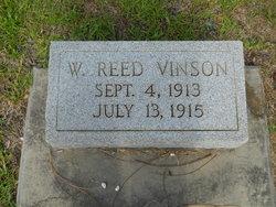 W Reed Vinson