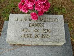 Lillie Mae <I>McLeod</I> Banks