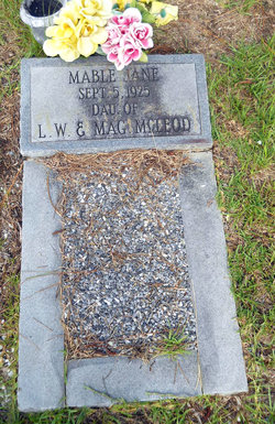 Mable Jane McLeod