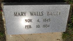 Mary <I>Walls</I> Bailey