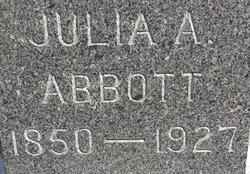 Julia Ann <I>Lundry</I> Abbott