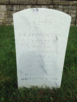 V. Kathryn <I>Cole</I> Finley