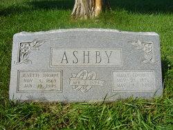 """Jenette """"Nettie"""" <I>Thorpe</I> Ashby"""