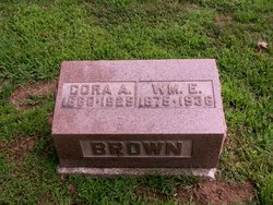 Cora A <I>Toney</I> Brown