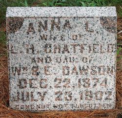 """Anna L """"Annie"""" <I>Dawson</I> Chatfield"""