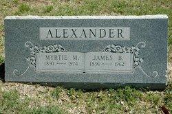 Myrtie <I>Carnes</I> Alexander