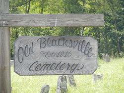 Blacksville Cemetery Old