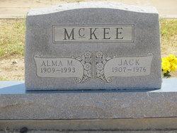 Alma Mae <I>Templin</I> McKee