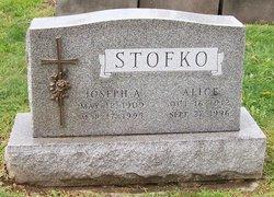 Alice <I>Bogden</I> Stofko