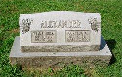 Cornelia A. <I>Anderson</I> Alexander
