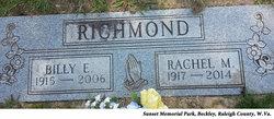 Rachel Marie <I>Smith</I> Richmond