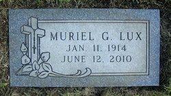Muriel G. <I>Shaules</I> Lux