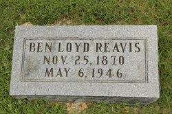 Benjamin Virginia <I>Loyd</I> Reavis