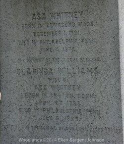 Clarinda <I>Williams</I> Whitney