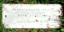 Donna Louise <I>Hutchins</I> Keith