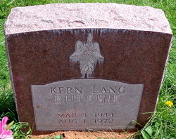 Kern Lang Dutchie, Sr