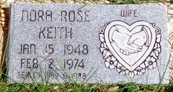 Nora Rose <I>Singer</I> Keith