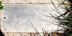 Ronnie Weston Hicks