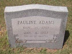 Pauline Adams