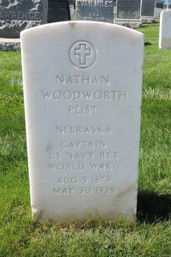 Capt Nathan Woodworth Post