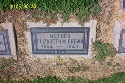 Elizabeth Malvina <I>Gooding</I> Brown