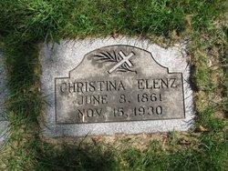 Christina Gertrude <I>Gibfried</I> Elenz
